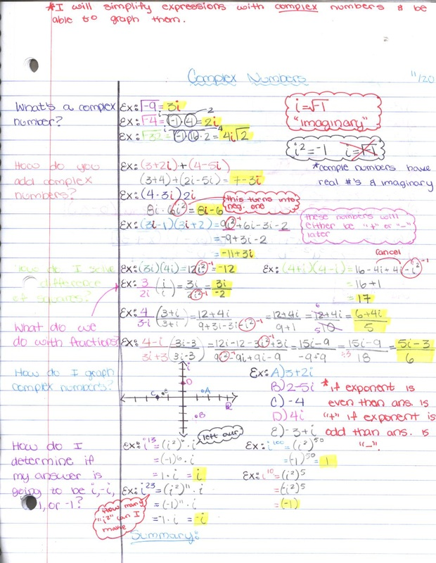 Cornell Notes - Mr G's Avid Class